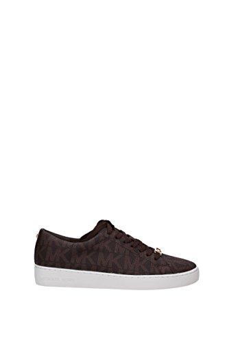 Michael Kors Sneakers Keaton Lace Up Mujer - PVC (43R5KTFP1BBROWN) 38.5 EU QSLHfhrm