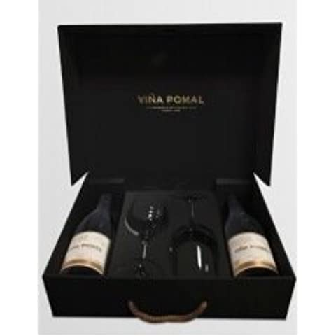 Vino Tinto Rioja Viña Pomal Reserva Centenario 2012 – ESTUCHE CON DOS BOTELLAS y 2 COPAS DE VINO