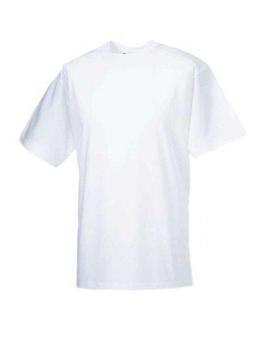 Klassisches schweres T-Shirt, Farbe:White;Größe:XXL XXL,White