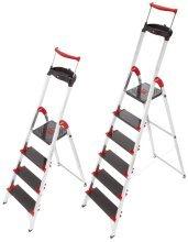 Preisvergleich Produktbild Hailo Sicherheitsleiter ChampionsLine XXR 225 / 8895-001 bis 281 cm 5 Stufen