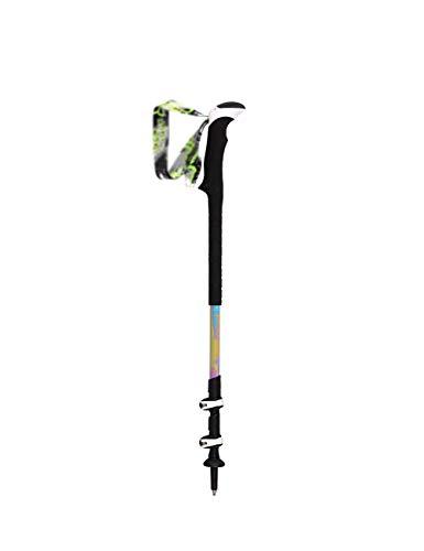 Wpzz-dsz Outdoor-Teleskop-Wanderstock, ultraleichter Carbon-Wanderstock, externes Verriegelungssystem, abnehmbares Armband (64,5-135 cm) (Color : A)