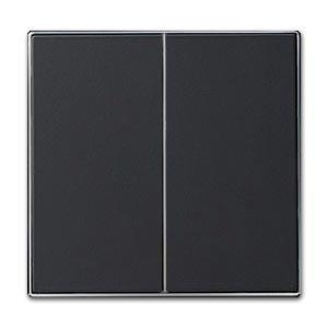 Niessen 8511 TECLA Doble INT/CONM NS, Negro Soft