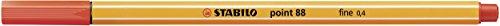 STABILO point 88 Penna Fineliner colori assortiti - Rollerset da 30 - 5