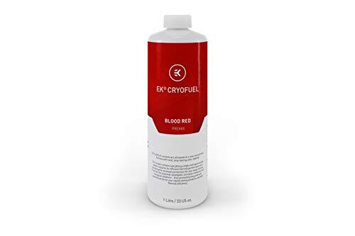 EK Water Blocks 3831109813263 - EK-CryoFuel Blood Red Premix Fluid - 1 Litre -