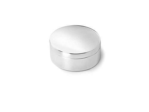 Zilverstad 7274261 Pillendose rund glatt, o 4.2 cm, versilbert anlaufgeschützt