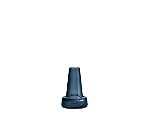 Holmegaard Flora Vase long cou - Bleu - Hauteur :