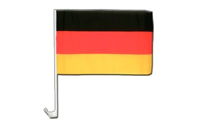 Deutschland Flagge, deutsche Autoflagge - 30 x 40 cm, MaxFlags®