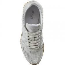 Armani - 9350277p423, Scarpe da ginnastica Uomo Bianco