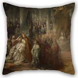 beautifulseason-16-x-16-inches-40-by-40-cm-oil-painting-carl-gustav-pilo-the-coronation-of-king-gust
