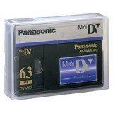 PANASONIC AY DVM63PQ  PROFESSIONAL MINI DV  VIDEOCASSETTE 63 MIN   5 PACK