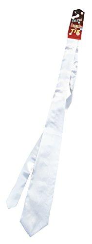 Bristol Novelty BA508 Gangster Krawatte, Weiß, Herren Einheitsgröße