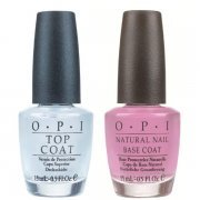 OPI Nagellack-Duo - Natural Nail Top Coat & Basislack  x 2 15 ml