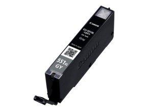1 Nouvelle Version Premium Quality High Capacity 100% cartouche d'encre compatible pour Canon 551XL CLI-551 Pixma MG5450 MG6350 IP7250 MX925 Compatible avec CLI-551XL GY (1 Gris) (551XL Gris)