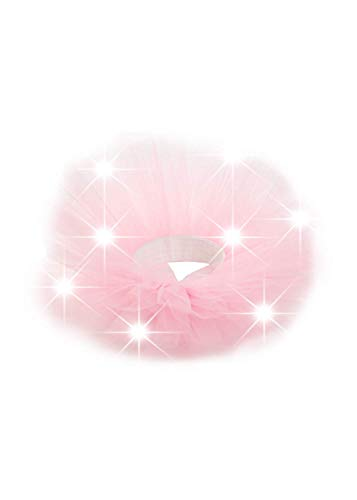 Knowin Baby Tanz Ballettröckchen LED Striped Mesh Princess Dress Tutu Rock Prinzessinnen Kleider Rockabilly Regenbogen Birthday Party Pageant Kostüm Kleider Faltenrock Baby Geburtstagsfeier Hochzeits