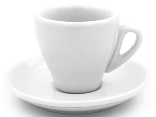Nuova Point Espressotassen, Espressotasse MILANO B46, B 46 weiß 6 Stück O/U