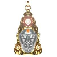 Sovam International Hanuman Chalisha-Gold Silver & Shri Hanuman Locket Seen on Tv