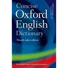 Concise Oxford English Dictionary: Thumb Index Edition
