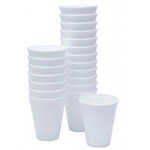 500 x 7oz DART POLYSTYRENE FOAM THERMAL CUPS HOT DRINKS Test