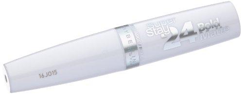 Maybelline New York Make-Up Lippenstift Superstay Topcoat Matt Bold Matte / Farbloser Topcoat für 7 Tage frische Lippenfarbe, 1 x 5 g (Sache Für 1 Cent)