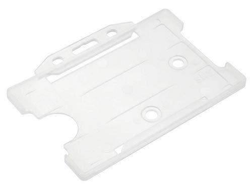 Soporte para tarjetas de identificación, plástico rígido.