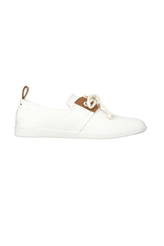 Armistice Stone One Twill, Baskets Mode Femme Blanc