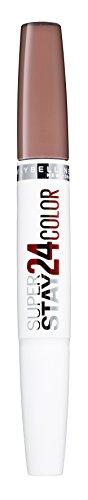 Maybelline Superstay 24H Lippenstift Nr. 110 Quartz Star, farbintensiver, flüssiger Lippenstift mit bis zu 24 Stunden Halt, patentierte Micro-Flex-Formel, mit integriertem Pflegebalsam, 5 g