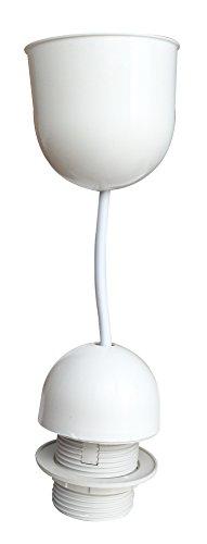 Tibelec 771010 Monture Plastique E27 Blanc