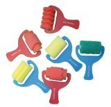 Sponge Paint Rollers - Set of 6