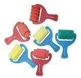 Sponge Paint Rollers - Set of 6