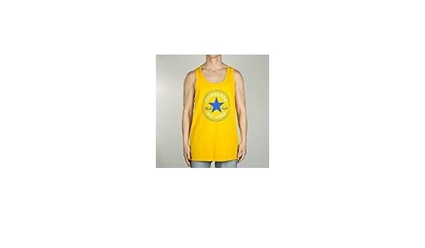 Converse Chuck Patch Herren Shirt, Tank, orange (University