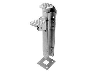 Ironmongery World Heavy Duty Galvanized Foot Operated Garage Door Gate Drop B...