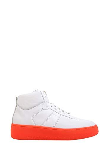 Maison Margiela Hi Top Sneakers Uomo S57ws0188sy0645961 Pelle Bianco