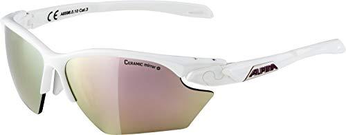 ALPINA Damen Twist Five HR S cm+ Sportbrille, White matt, One Size