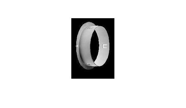 Rundrohr /Ø 150mm Flachkanal 150 PRO Wandstutzen Ausstattung:mit R/ückstauklappe