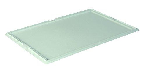 Deckel für Pizzateigbehälter Teigbehälter Stapelbox Teigbox 60x40cm