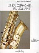Saxophone en jouant Volume 1