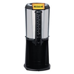 hormel-410225-thermal-beverage-dispenser-gravity-25-liter-stainless-steel-black