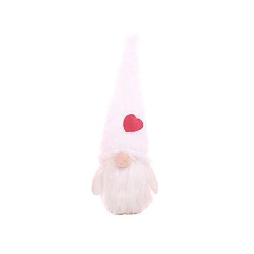 WE-WHLL Weihnachten handgemachte schwedische GNOME Langen Hut