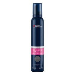 Rosa Body Mousse (Indola Color Style Mousse perl grau, 1er Pack (1 x 200 ml))