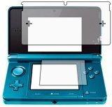 6 in 1 Packung (3 für jeden Display) Displayschutzfolie passgenau für NINTENDO 3DS - 3-lagiger LCD Displayschutzhülle