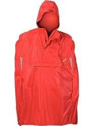 Movecs 304-00020 - Chubasquero de ciclismo, color rojo, talla DE: 128
