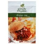 3 Savers Paket: Einfach Bio Sloppy Joe (12 x 1.4 oz)