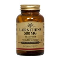 Solgar L-Ornithine 500 mg Vegetable Capsules