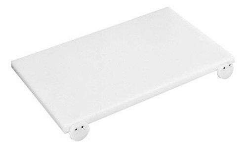 Paderno 42540-40 tagliere con fermi, 40 cm, polietilene