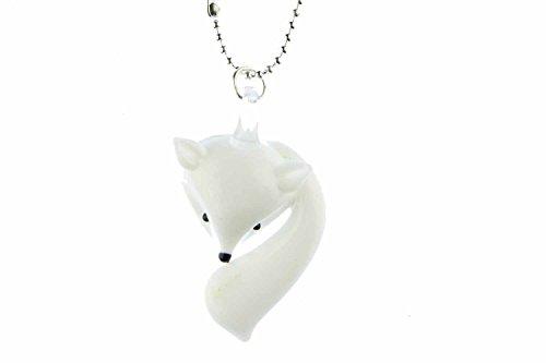 fuchs-kette-halskette-miniblings-80cm-fuchskopf-fchse-fox-glas-wei