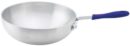 Winco ASFP-11 Aluminum Stir Fry Pan, 11-Inch by Winco Open Stir Fry Pan