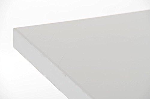CLP Metall Stehtisch LOGAN Bartisch weiß - 4