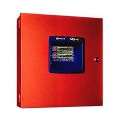 FIRE-LITE ALARMS MS-4 FIRE PANEL, 4 ZONE, 24V CLASS B, 2 CLASS B NAC by Fire Lite Alarms 2 Zone Fire Panel