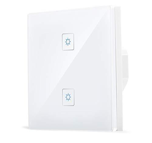 Smart zigbee 2 Interruptor luz grupo pared Echo Plus