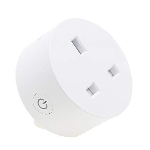 yjll Smart Plug WiFi Mini Salida Control Remoto Control De Energía La...